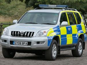 2003 Toyota Land Cruiser Prado 120 5-Door Police